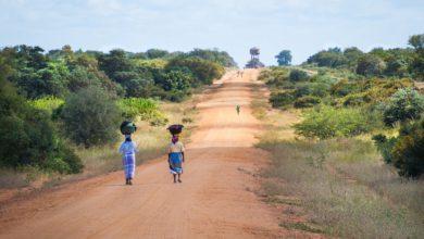 enfants africains mozambique